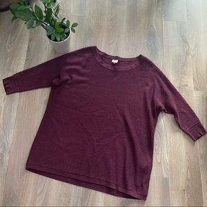 ONLY Cranberry Crewneck Knit Sweater